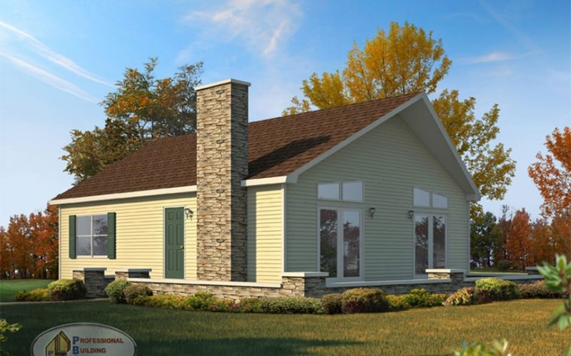 Aspen Modular Home Elevation