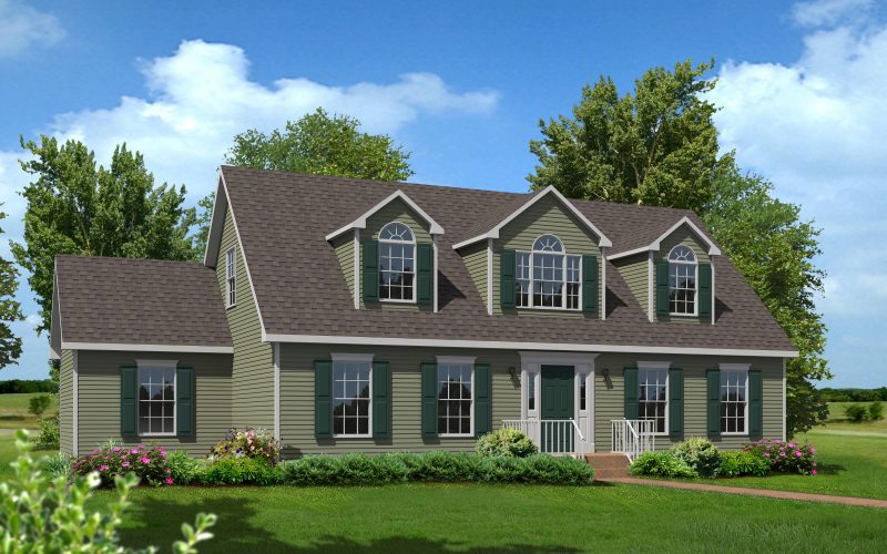 Cameron III Modular Home Elevation