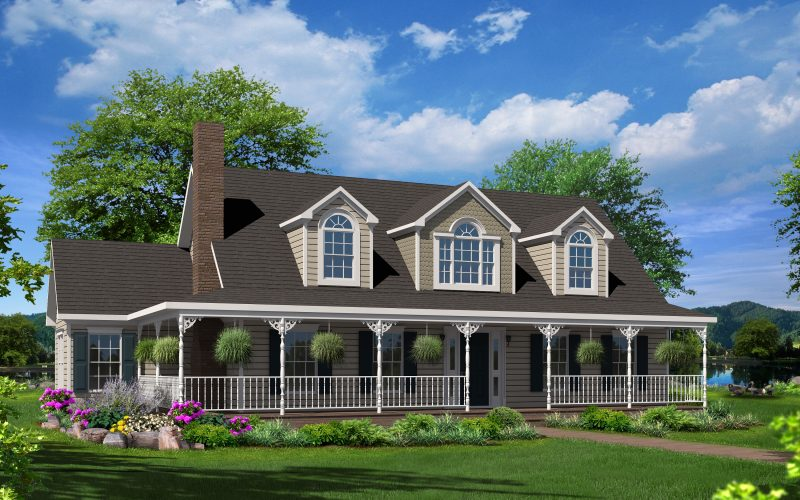 Cameron IV Modular Home Elevation