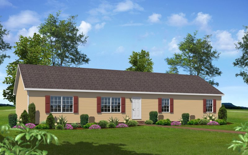 Fox Hill Modular Home Elevation
