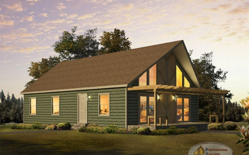 Kennebunk Modular Home Elevation