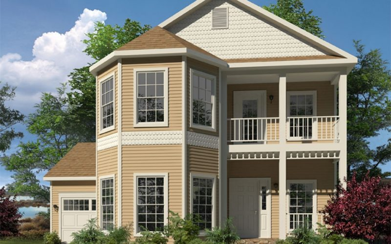 McKenna Modular Home Elevation