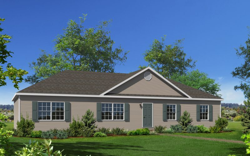 Meadow Brook Modular Home Elevation