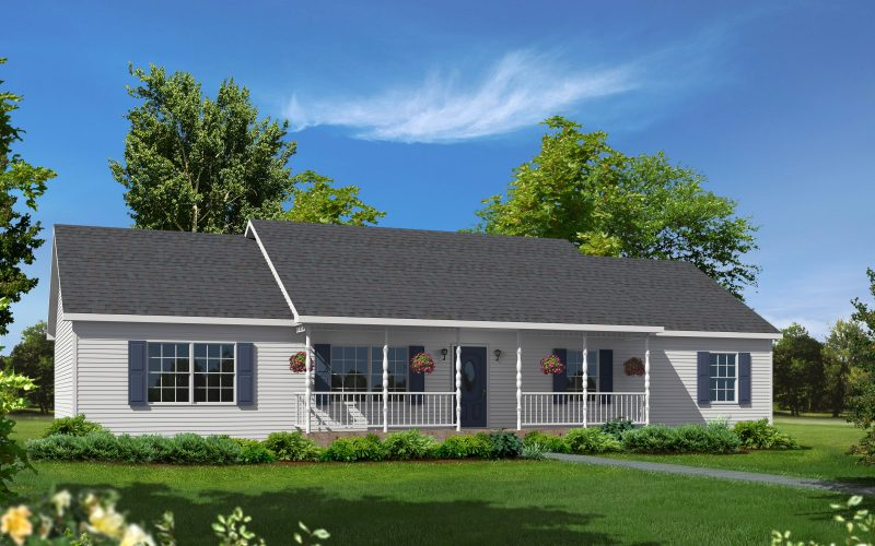 Mill Brook Modular Home Elevation