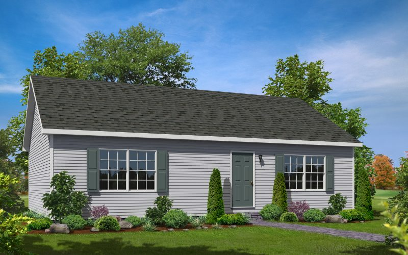 Oakwood Modular Home Elevation