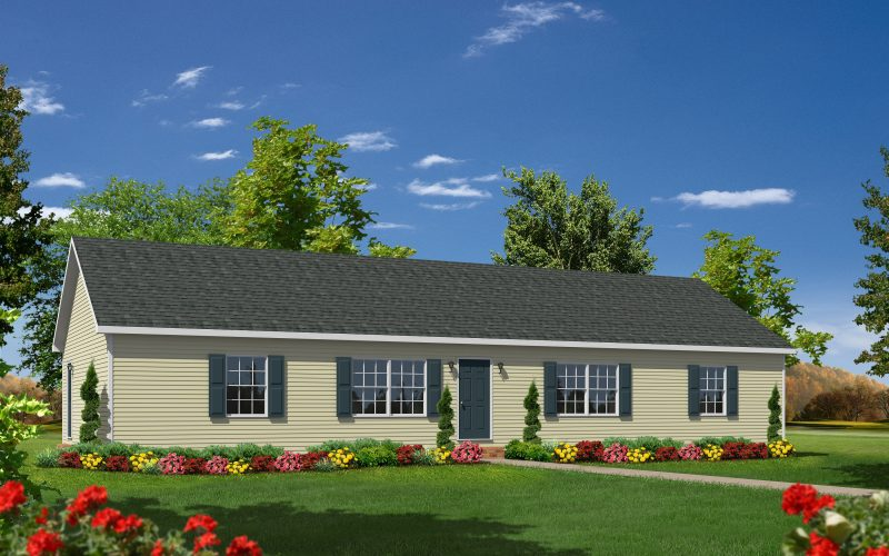 Orchard Hill Modular Home Elevation