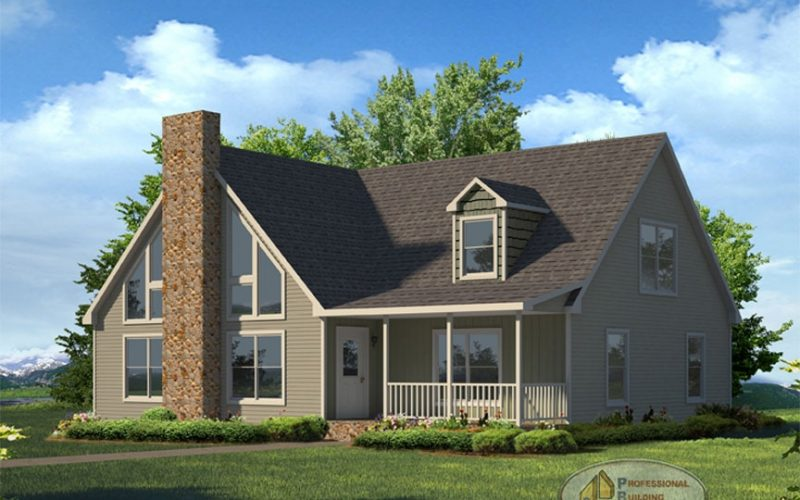 Saranac Modular Home Elevation