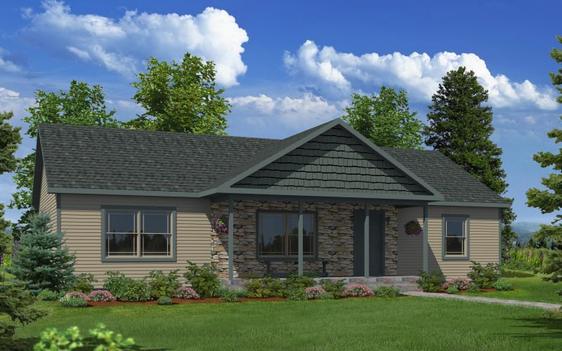 Stone Ridge Modular Home Elevation