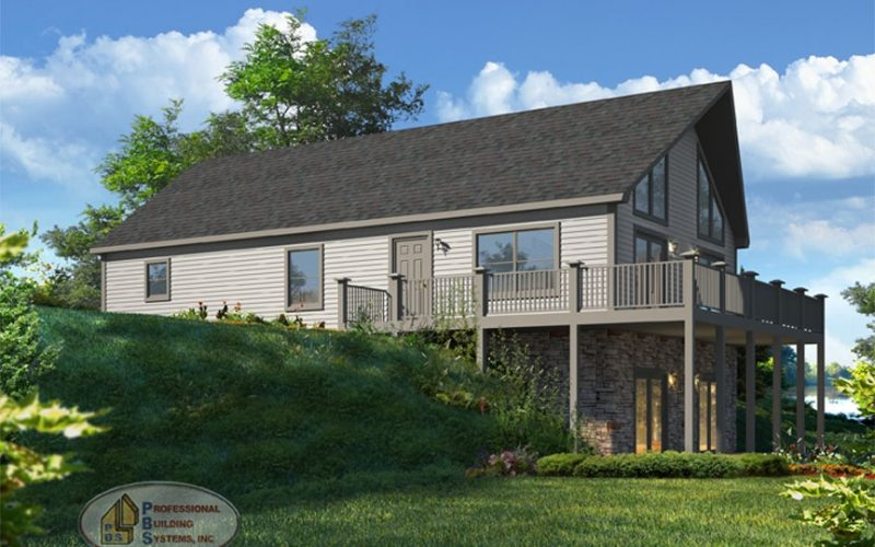 Tisbury Modular Home Elevation