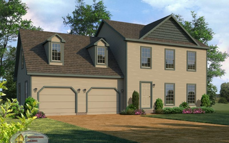 Waterford Modular Home Elevation
