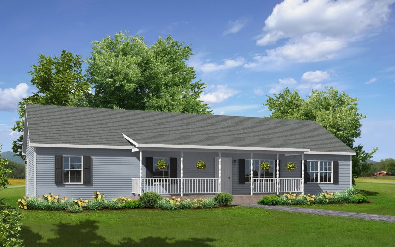 Willow Creek Modular Home Elevation